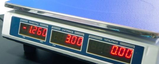 Como calibrar uma balança digital